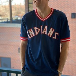 Other - Cleveland Indians Jersey Screenprint Classic ⚾️